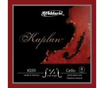 CELLO TEK TEL, KAPLAN, 4/4 SCALE, MEDIUM TENSION, A KS511