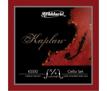 CELLO TEL SETİ, KAPLAN, 4/4 SCALE, MEDIUM TENSION,  KS510 4/4M