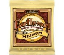 Ernie Ball P02002 Earthwood Medium 80/20 Bronze 0.13 - 0.56 Akustik Gitar Teli
