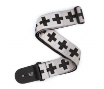 GİTAR ASKISI DOKUMA CHECKERED CROSSES T20W1509