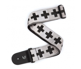 GİTAR ASKISI DOKUMA CHECKERED CROSSES