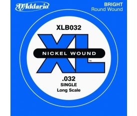 BAS GİTAR TEK TEL, (DO), XL NICKEL WOUND, 0.032 GAU