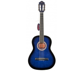 BARCELONA LC 3600 BB / 3/4 Junior Blue Black Sunburst Klasik Gitar
