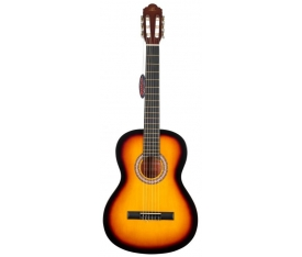 BARCELONA LC 3900 BS Brown Sunburst Klasik Gitar