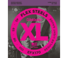 BAS GİTAR TEL SETİ, FLEXSTEELS, REGULAR LIGHT GAUGE