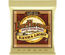 Ernie Ball P02006 Extra Light 10-50 Akustik Gitar Teli