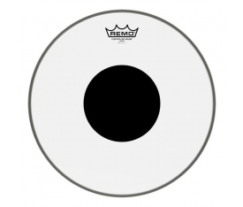 "REMO CS-0314-10- Controlled Sound Şeffaf Black Dot 14"" Deri"